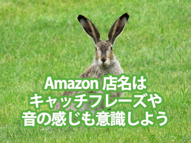 俺せど_Amazonの店名・キャッチフレーズ